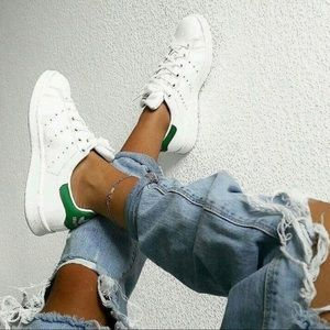 ADIDAS Originals Stan Smith Green White Sneakers